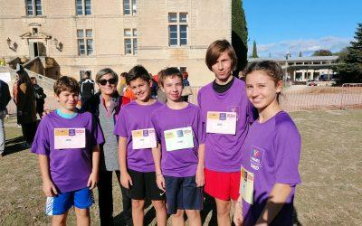 Championnat de CROSS du comité du Gard, Vestric 2019