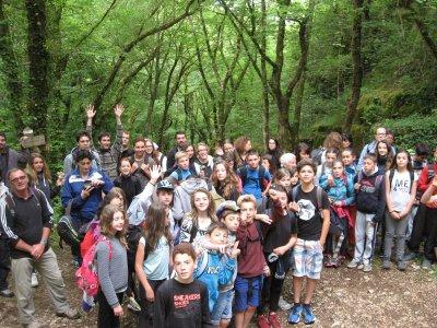 Pélerinage  vers St Jacques de Compostelle : un week-end pour une belle ascension vers Rocamadour