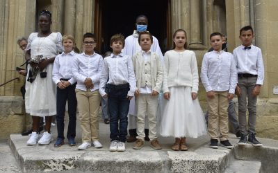 Premier groupe de la 1re des communions